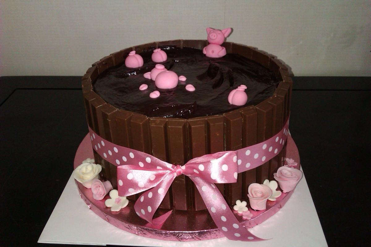 Kit Kat Birthday Cake Pigs In Mud (recipe) ~ Image ...